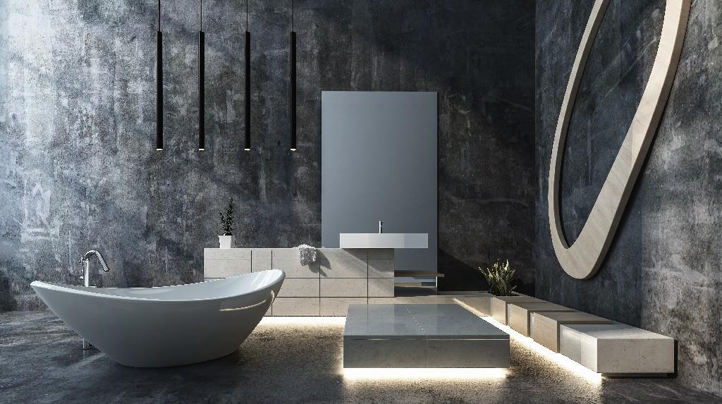 salle de bain design à Paris 15e | Aux Bâtisseurs Parisiens