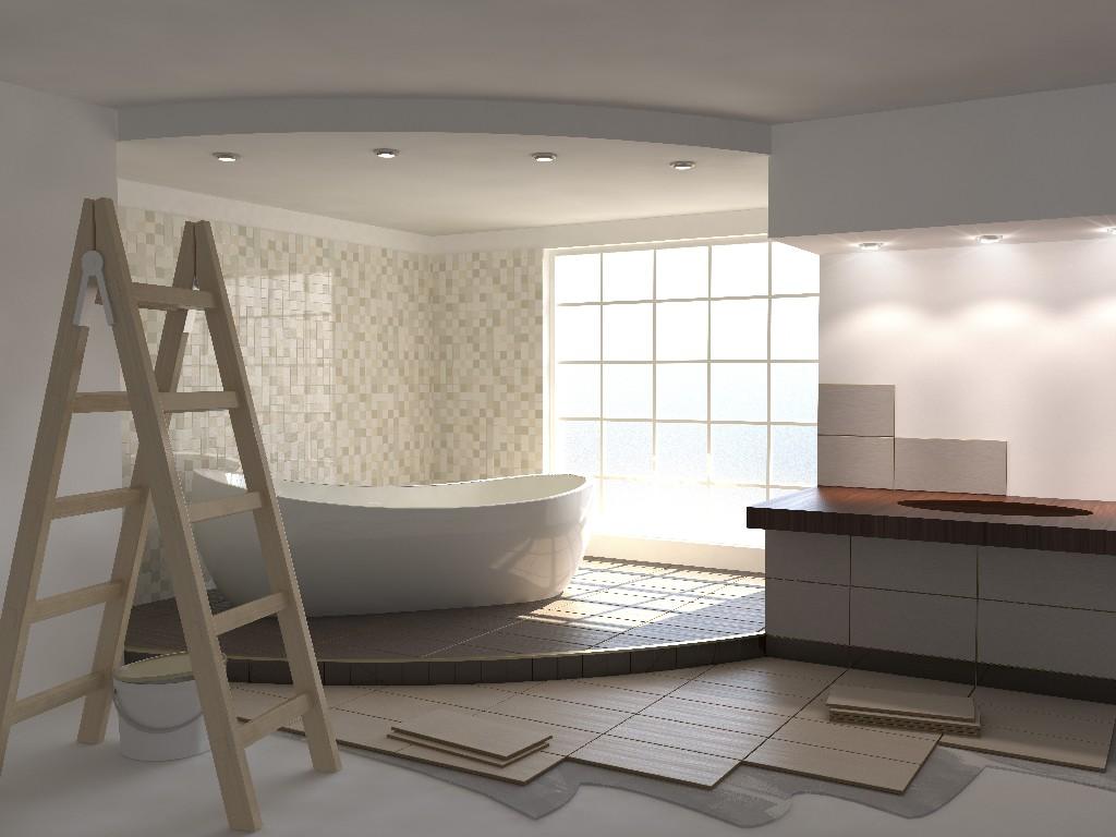 rénovation de salle de bain à Paris 15e | Aux Bâtisseurs Parisiens