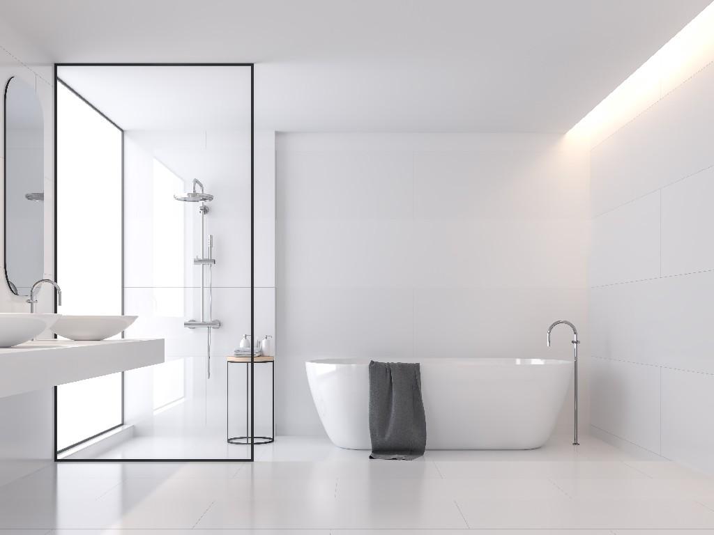 salle de bain sur mesure à Paris 15e | Aux Bâtisseurs Parisiens