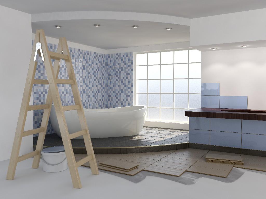 pose de carrelage de salle de bain à Paris 15e   Aux Bâtisseurs Parisiens