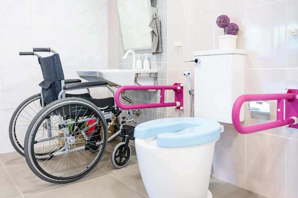 pose de w.c. pour handicapés à Paris 15e | Aux Bâtisseurs Parisiens