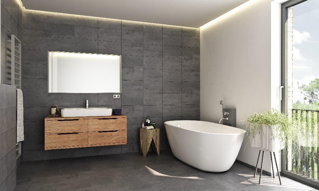 salle de bain design près de Paris 15e | Aux Bâtisseurs Parisiens