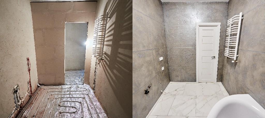 Salle de bain pour PMR à Paris 15e | Aux Bâtisseurs Parisiens