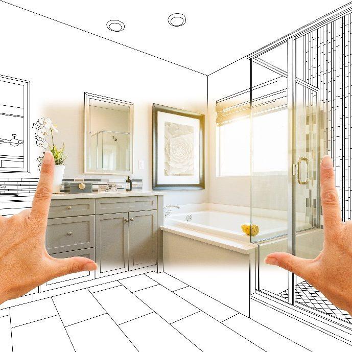 Création de petite salle de bain à Paris 15e | Aux Bâtisseurs Parisiens
